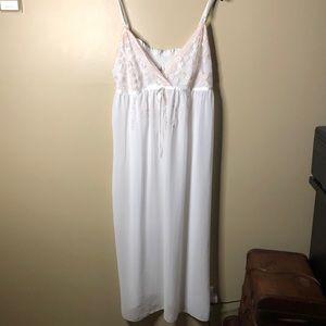 Linea donatella lace nightdress slip